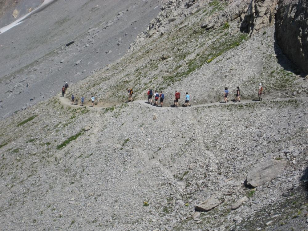 Klettersteig Rotstock : Eigertrail und rotstock klettersteig u2013 01. 02.08.2009 dav sektion lahr