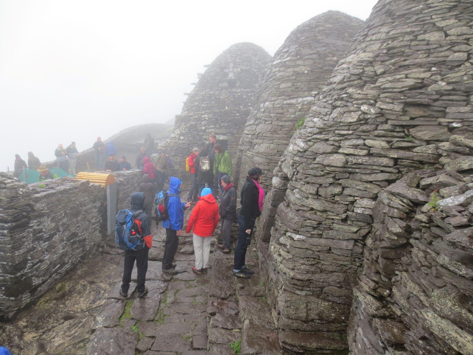 Mönchsanlage auf den Skellig Inseln